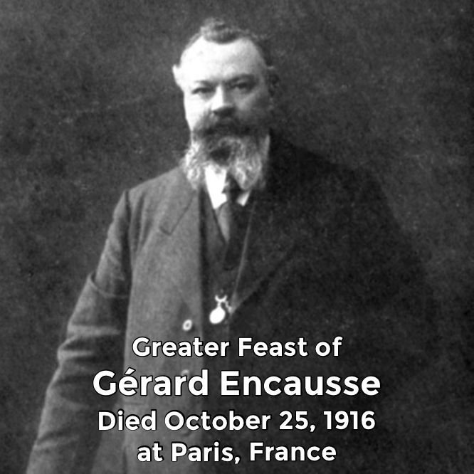 Hermetic Saints October 25 Gerard Encausse Greater
