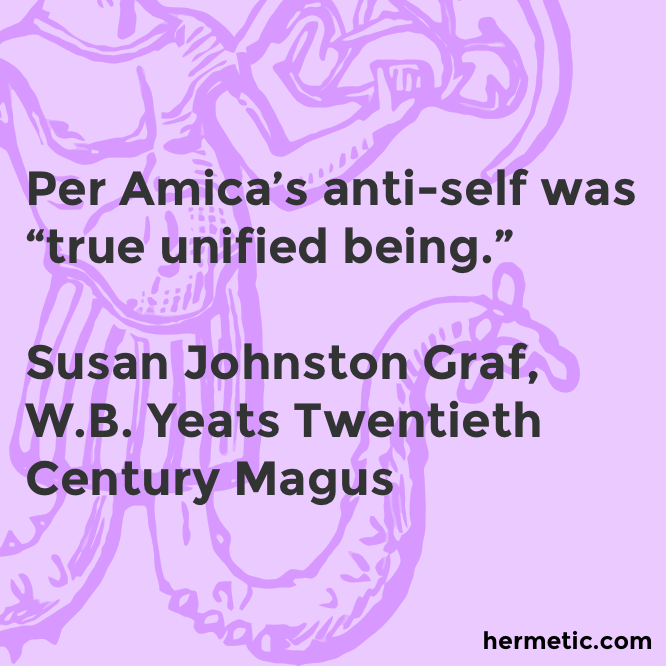 Hermetic quote Graf Yeats unified being