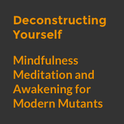 Deconstructing Yourself - Mindfulness Meditation and Awakening for Modern Mutants