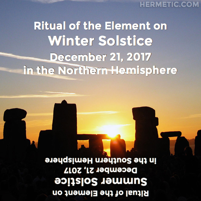 Hermetic calendar Dec 21 2017 winter solstice