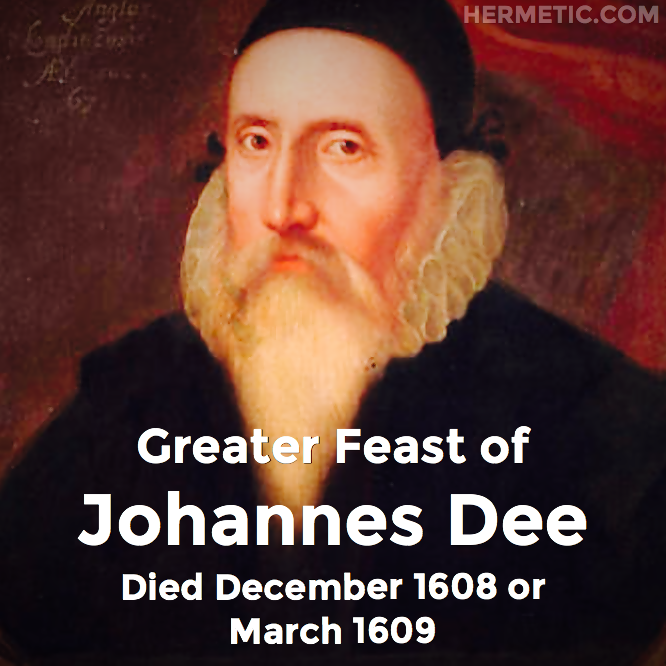 Hermetic calendar Dec John Dee