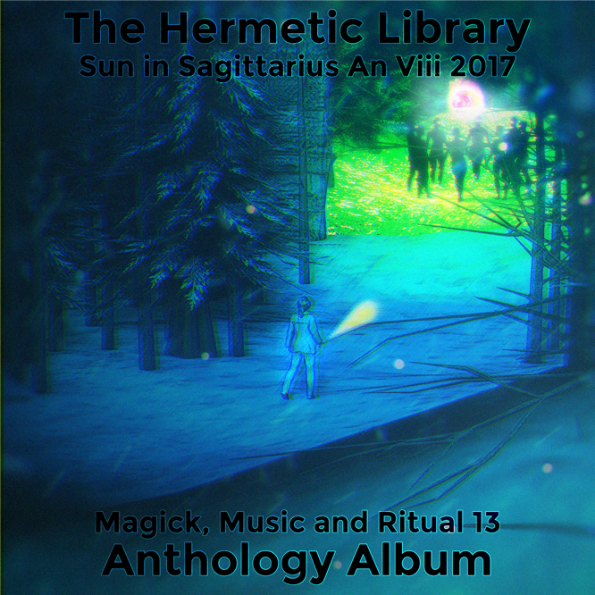 Magick Music and Ritual 13 Snow alternate cover