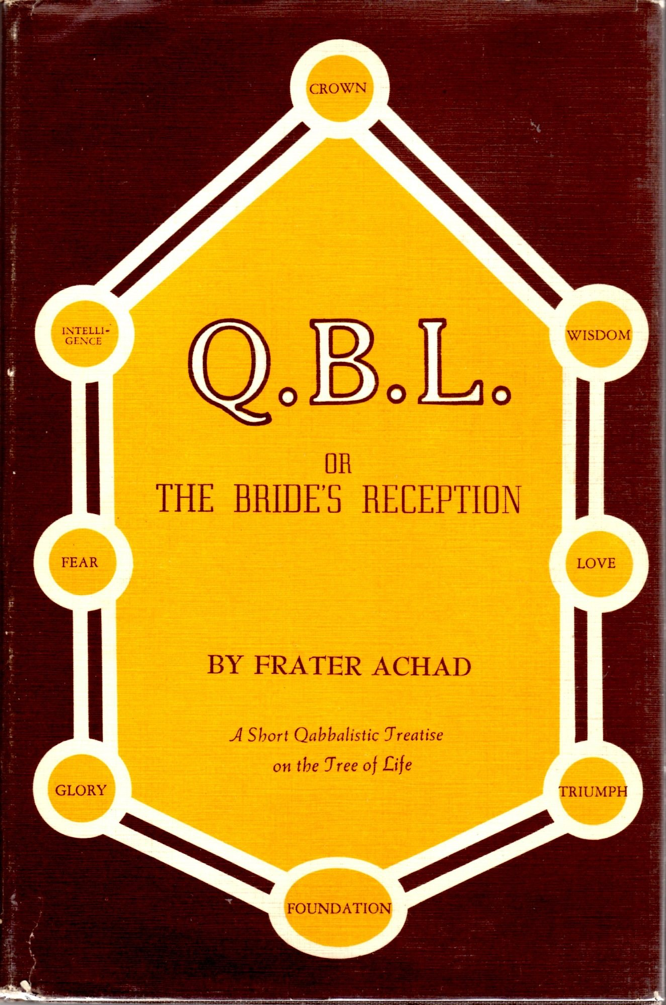 Achad Jones QBL or the Bride's Reception