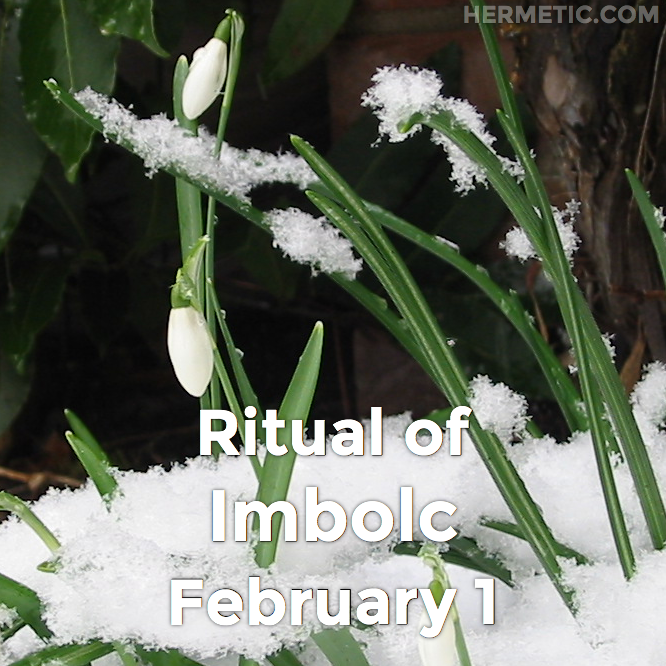 Hermetic calendar Feb 1 Ritual of Imbolc