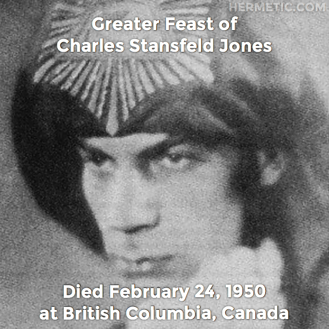 Hermetic calendar Feb 24 Charles Stansfeld Jones
