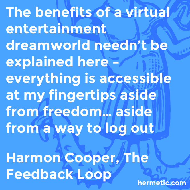 Hermetic quote Cooper Feedback benefits
