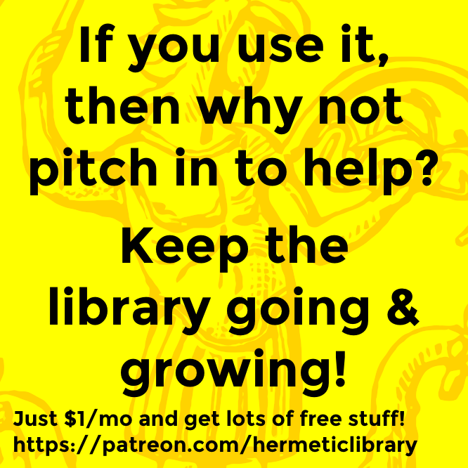 Hermetic why not pitch in to help?