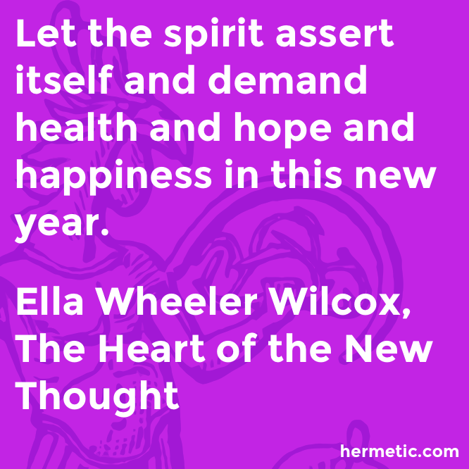 Hermetic quote Wilcox Heart assert