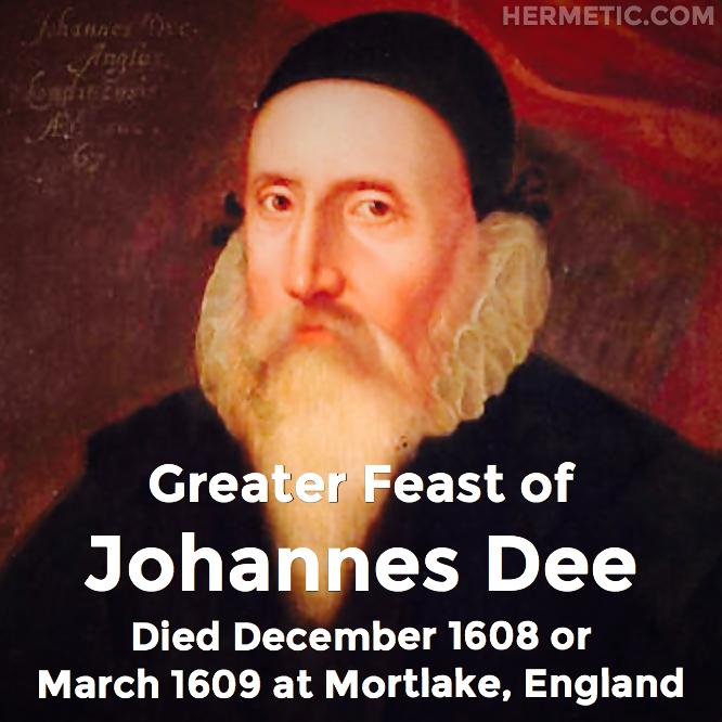 Hermetic calendar Mar Johannes Dee