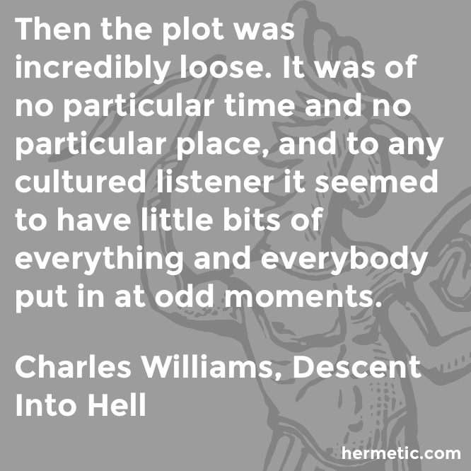 Hermetic quote Williams Descent plot