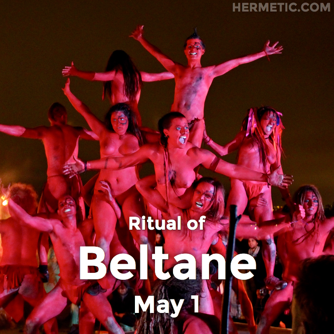 Hermetic calendar May 1 Beltane