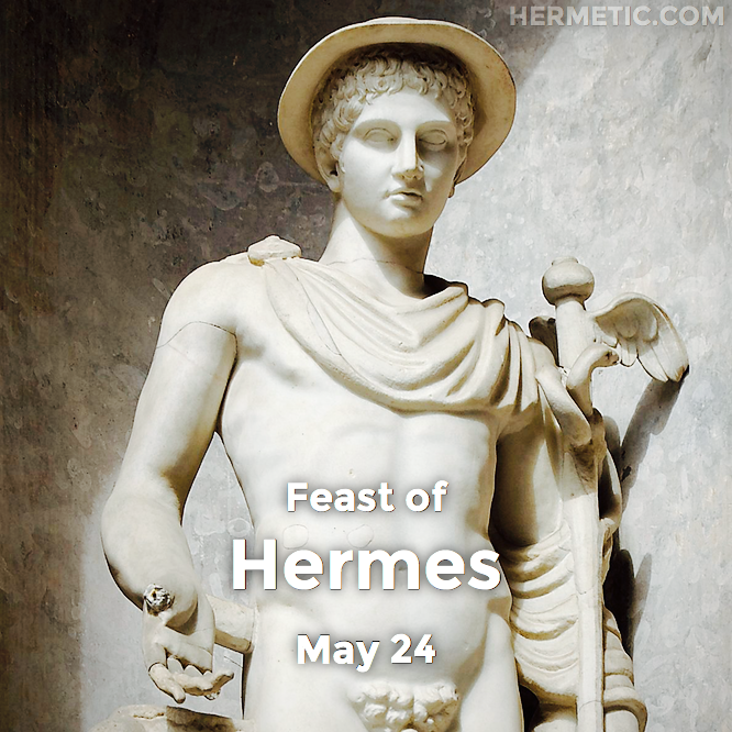 Hermetic calendar May 24 Hermes