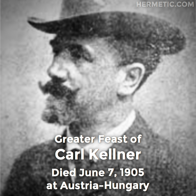 Hermetic calendar Jun 7 Carl Kellner