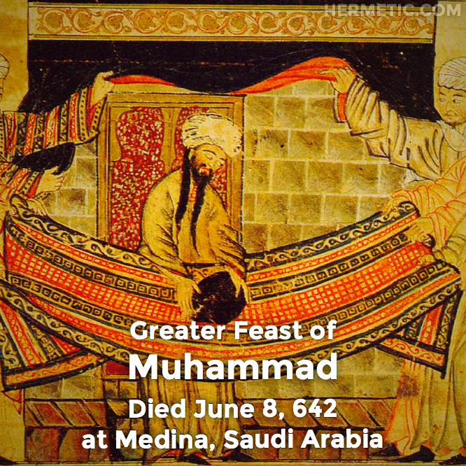 Hermetic calendar Jun 8 Muhammad