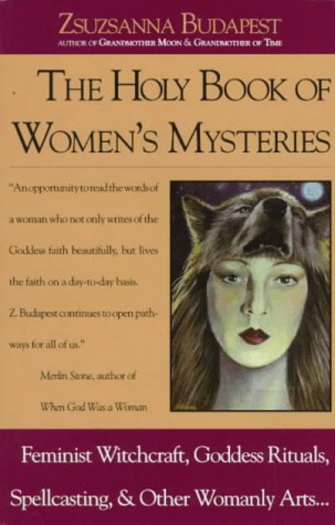 Budapest The Holy Book of Women's Mysteries