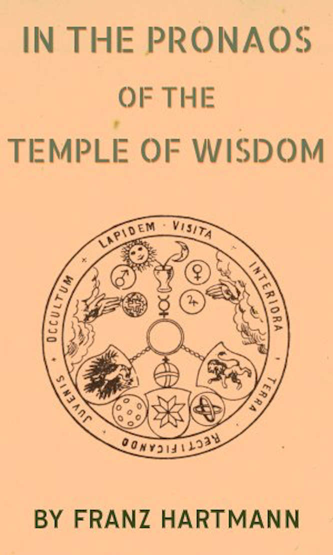 Hartmann In the Pronaos of the Temple of Wisdom