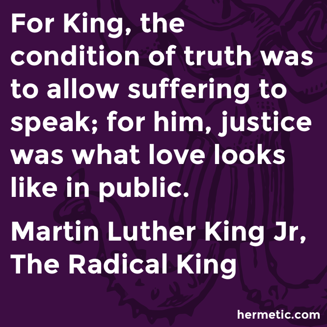 Hermetic quote King Radical love