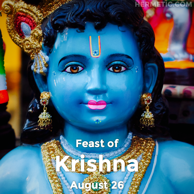 Hermetic calendar Aug 26 Krishna