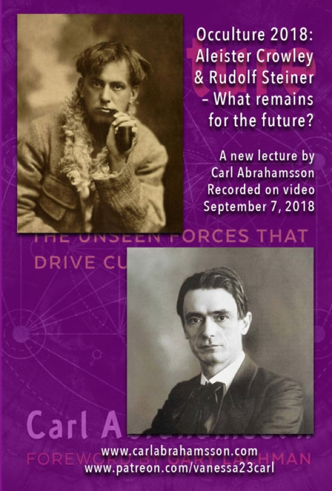 Abrahamsson Occulture Aleister Crowley and Rudolf Steiner