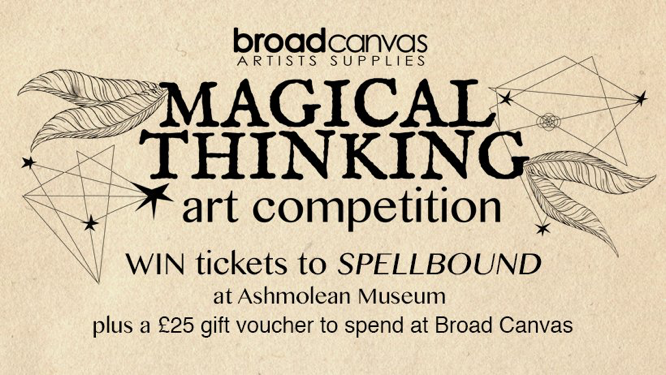 Broadcanvas Magical Thinking art competition