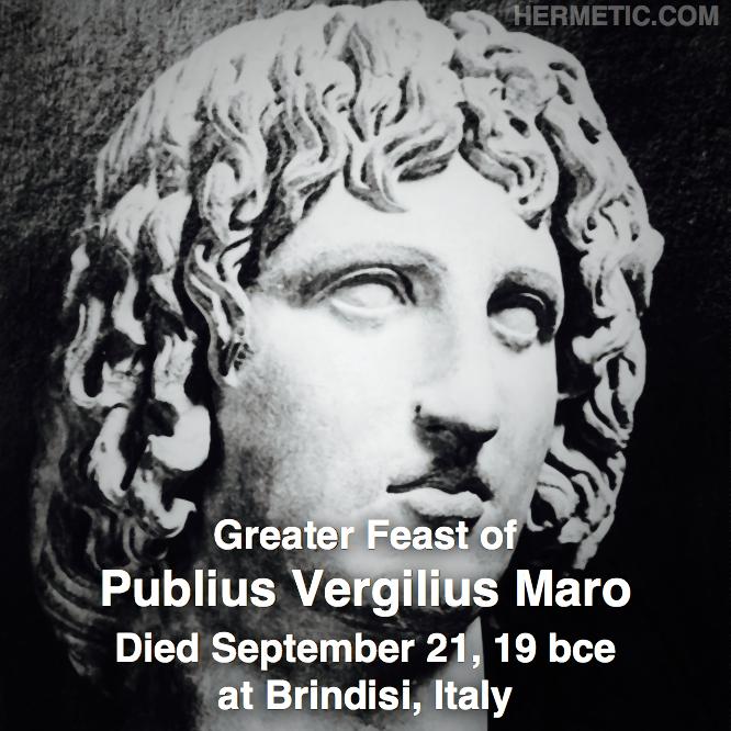 Hermetic calendar Sep 21 Virgilius