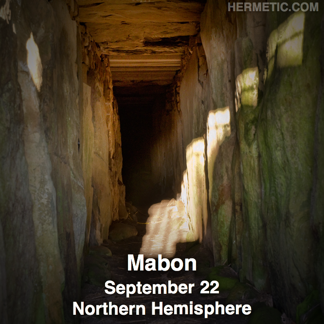Hermetic calendar Sep 22 Mabon Northern Hemisphere