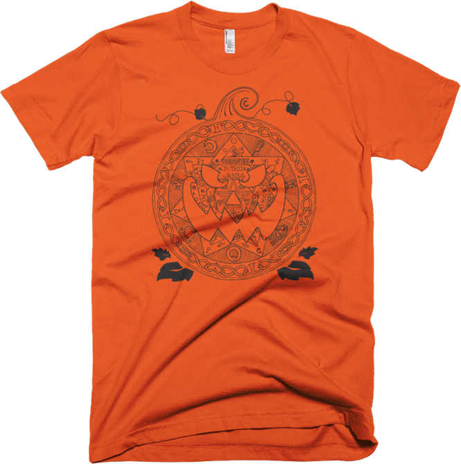 Occulture Podcast Pumpkin Sigil T Shirt