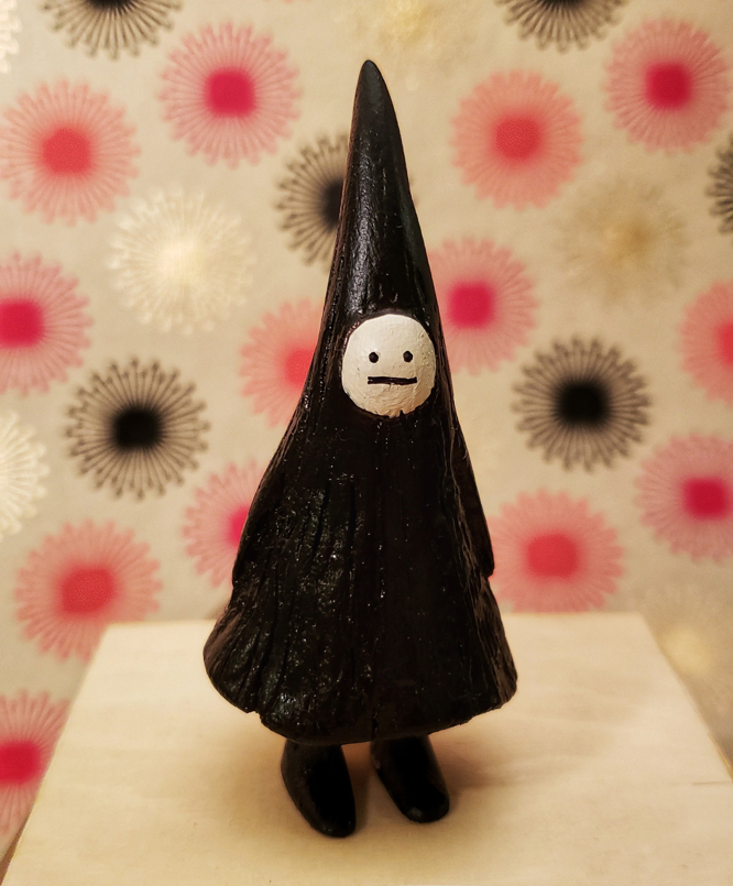 Traveling Witch Figurine Jon Carling