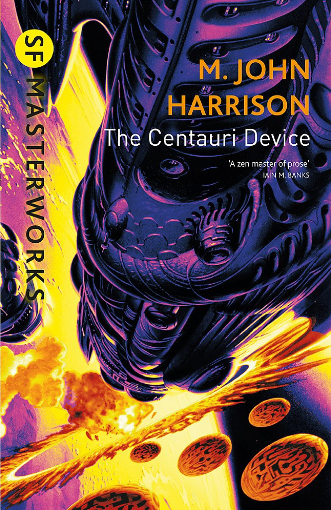 Harrison The Centauri Device SF Masterworks