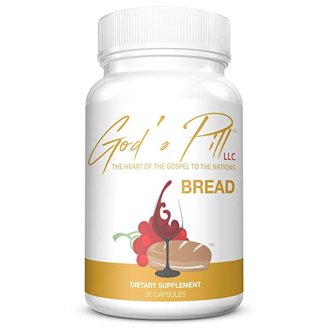 Gods Pill's communion bread