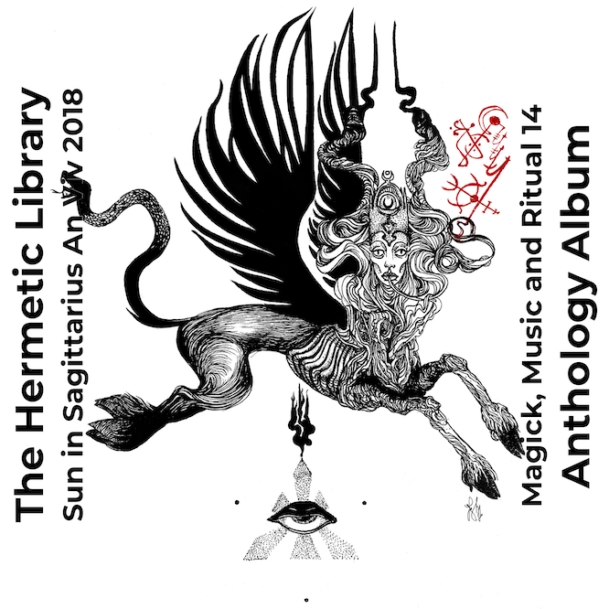 Magick Music and Ritual 14 The Hermetic Library Anthology Album 2018 alternate Beast of Great Desire cover