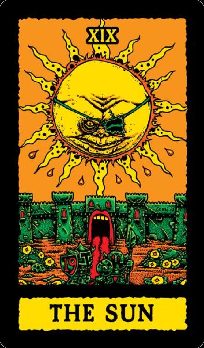Äaberg Goblinko Tarot The Sun