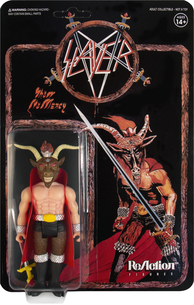 Super7 Slayer Baphomet action figure