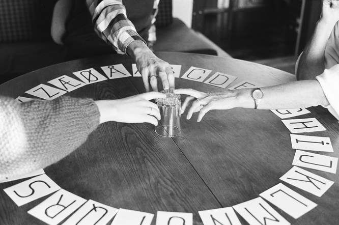 Bebergal Paris Review To believe or not ouija board