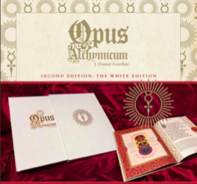 Gunther Opus Alchymicum 2nd white edition