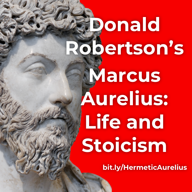 Hermetic Library Robertson Marcus Aurelius promo March 2019