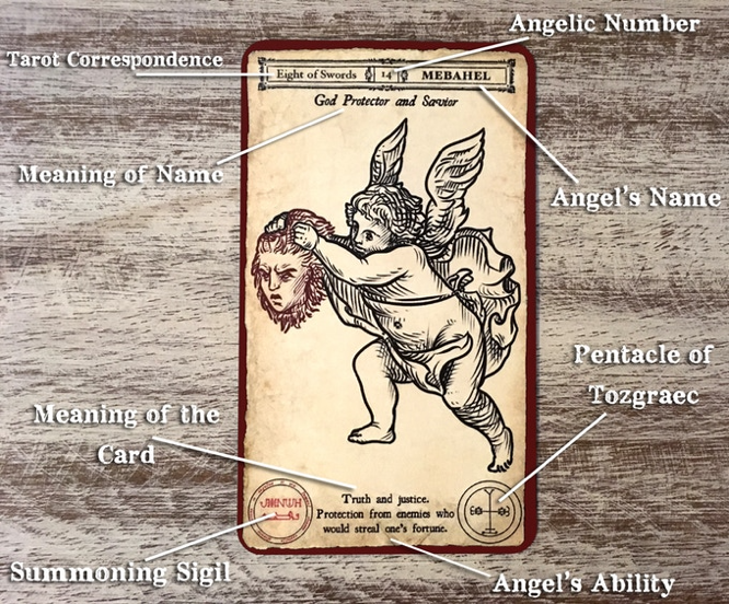 McHenry The Angel-Evoking Tarot