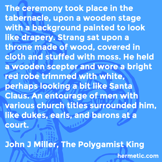 Hermetic quote Miller Polygamist titles