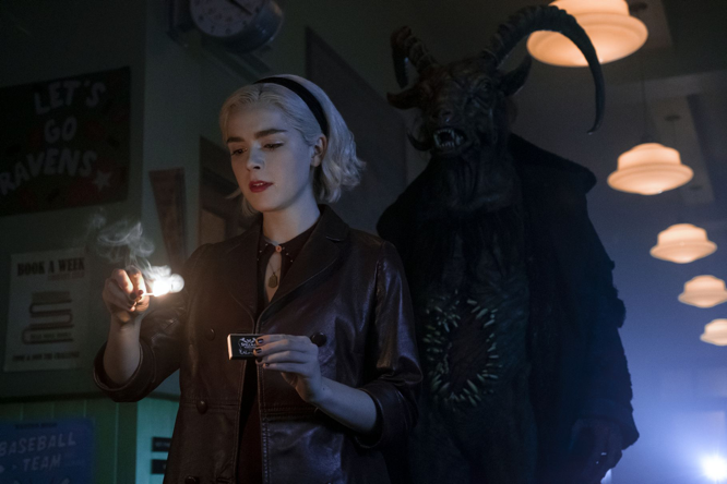 Murphy The Verge Sabrina season 2 Netflix