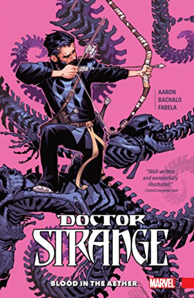 Aaron Bachalo Fabela Doctor Strange Blood in the Aether