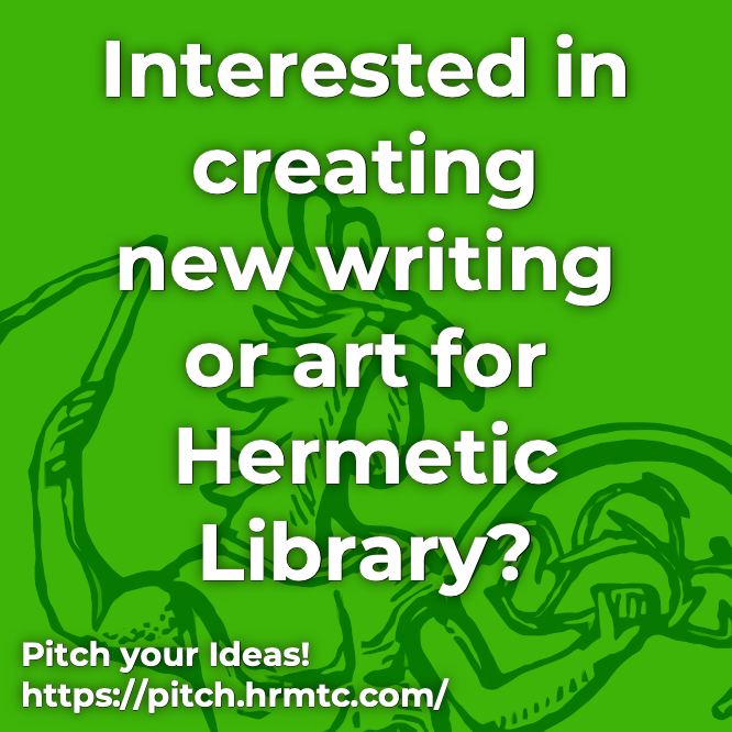 Pitch your Ideas to Hermetic Library