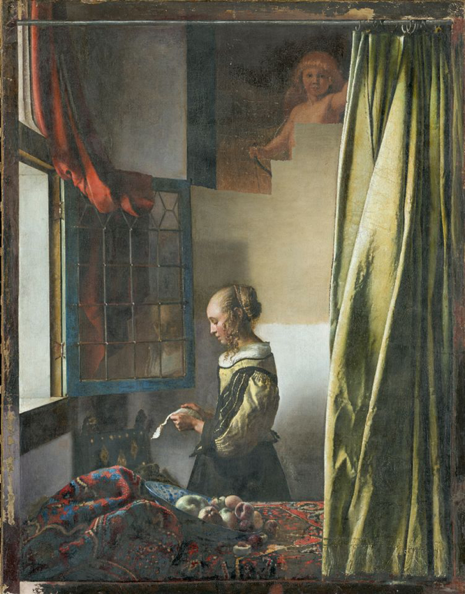 Hickley The Art Newspaper Hidden Cupid Vermeer