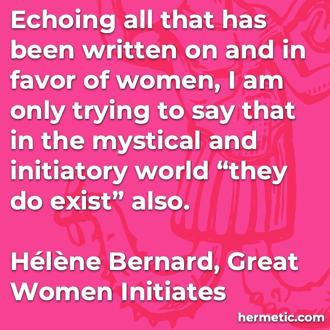 Bernard Women exist