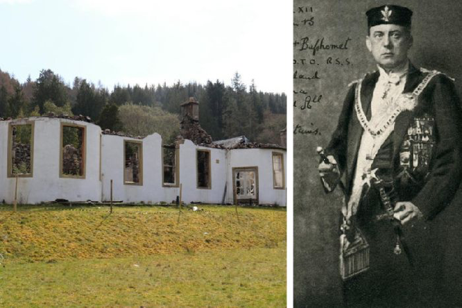 Campsie The Scotsman followers of occultist Crowley to be welcomed back Boleskine