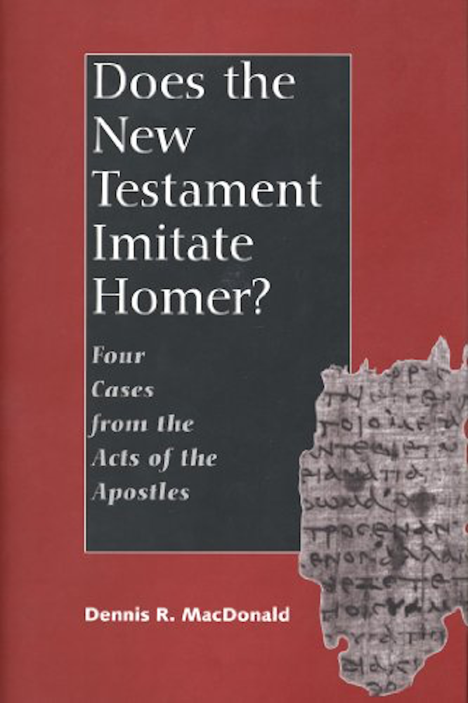 MacDonald Does the New Testament Imitate Homer?