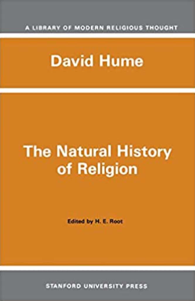 Hume The Natural History of Religion