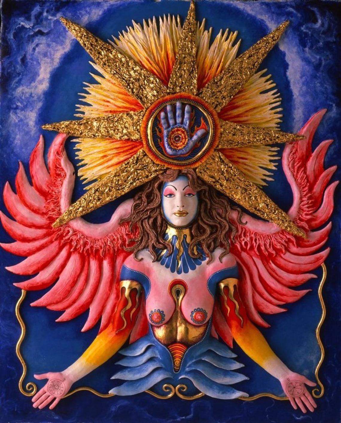 Skee Goedhart Mercury Winged Angel Goddess