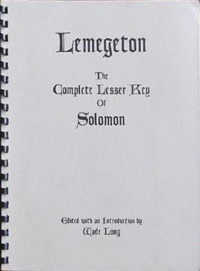 Long Lemegeton