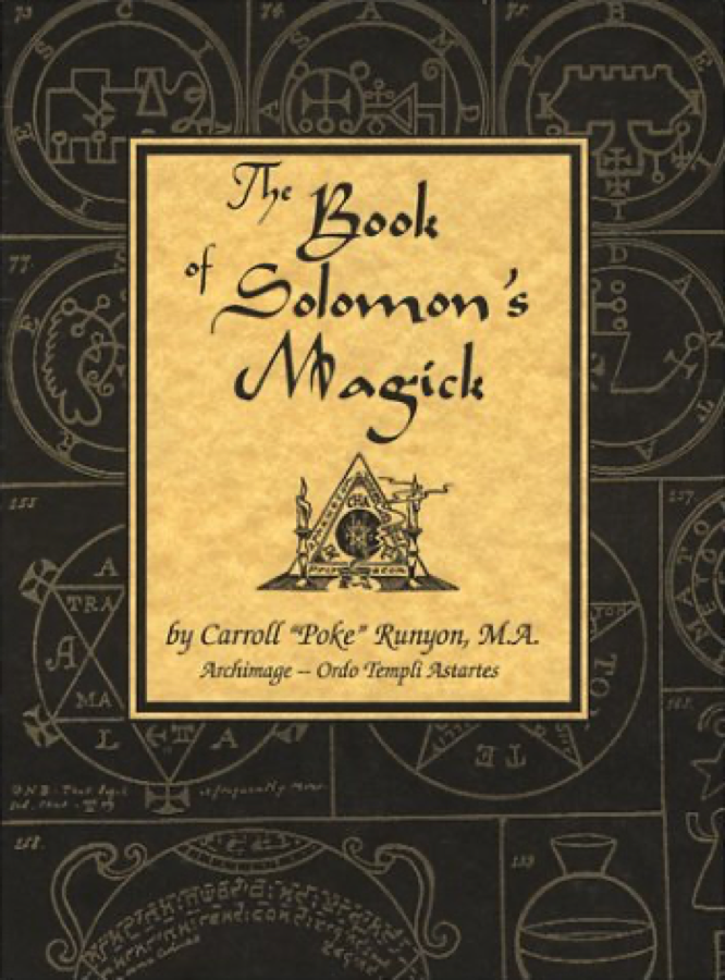 Runyon The Book of Solomon's Magick