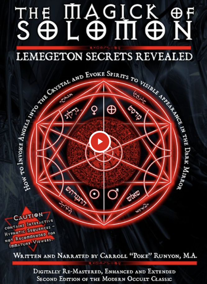 Runyon The Magick of Solomon DVD Video